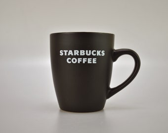 Starbucks Coffee Tea Cup Mug Brown 2010 Starbucks Coffee Logo 12oz Bronze