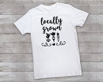 Locally Grown Adult Tee