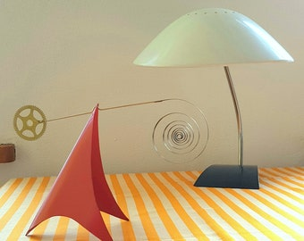 Mobile/stable made of metal, mid-century modern, inspired by Calder,