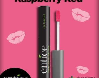 Entice Raspberry Red Lip Stain
