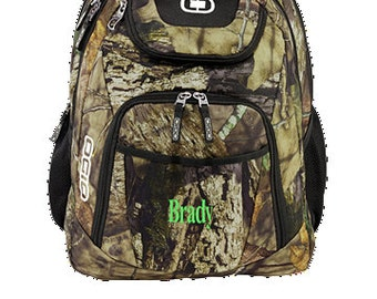 Ogio | Monogrammed camofluage backpack| Mossy Oak Break-Up Country