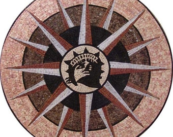 Mosaic Tile Decoration - Liberty