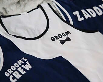Groom, Groomsmen, Groomsmen's Tank, Groom's Tank, Groomsmen Gift, Bachelor Party, Groomsmen Crew, Groom's Crew, Groomsmen Proposal