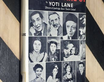 Stage Make-Up by Yoti Lane (1950) hardcover book