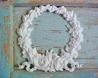 Shabby Chic Furniture Appliques Wreath Roses / BEST PRICES / Flexible / Hundreds to choose from!  do it yourself Chic!