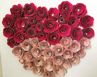 Paper Flower Decorations, bunches for a perfect look.