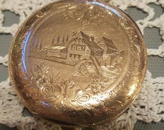 1883 Elgin pocket watch, size 12, beautiful gold fill hunter case