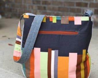 Design a custom Trail Tote   Handmade Cross-Body Bag