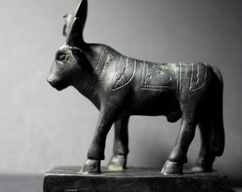 Small Egyptian Statue | Ox | Oxen