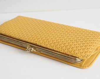 Vintage Yellow Wallet