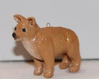 Chihuahua, Standing, Ornament/Figure 100% Handmade