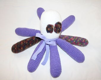 Amigurumi Stuffed Octopus