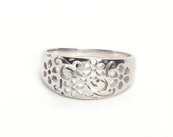 Handmade Unique 925 sterling silver ring