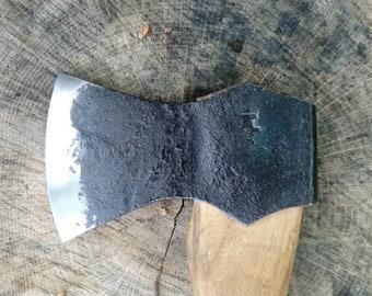 Hand forged hatchet
