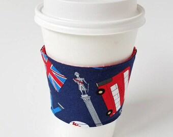 London Memories  - Reusable Coffee Sleeve