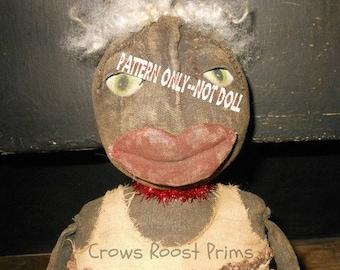 Primitive LYDIA epattern-NOT DoLL Crows Roost Prims 125e  epattern  immediate download