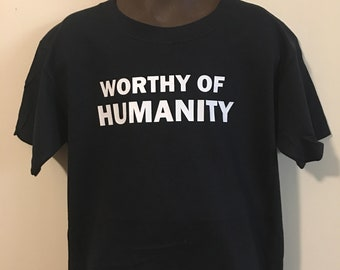 Youth Worthy of Humanity Crewneck T-Shirt