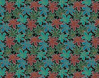 PREORDER - Kaffe Fassett - Philip Jacobs - Spring 2018 - Lacy Leaf - Green - (PWPJ093.GREEN) - 1/2 Yard++