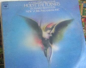 1973 Vinyl Record Sonic Space Spectacular Holst The Planets Leonard Bernstein New York Philharmonic 1970s 1973 CBS