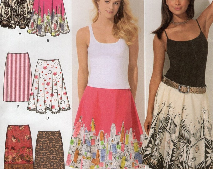 FREE US SHIP Simplicity 4236  6 Made easy skirt Skirts  Size 12 14 16 18 20 Waist 26.5-34 Uncut Sewing Pattern