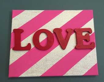 Canvas 8x10 Love