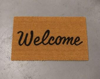 Welcome Doormat (size options)