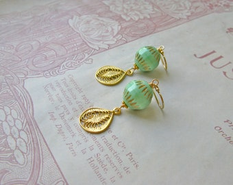 Vintage Summer medium earrings