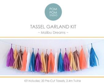 DIY Tassel Garland Kit | Malibu Dreams