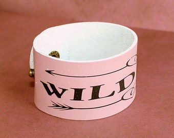 Wild One Leather Cuff