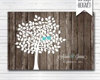 PRINTABLE DOWNLOAD - Wedding Guest Book - Wedding Tree - Signatures Tree - Wood Wedding - Wedding Guestbook -Guest Book - Rustic Guest Book