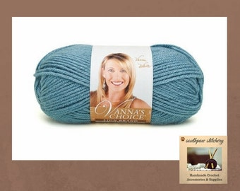 Vanna's Choice Yarn, Lion Brand Vanna's Choice Yarn, Dusty Blue