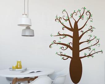 Playful Tree Vinyl Wall Art