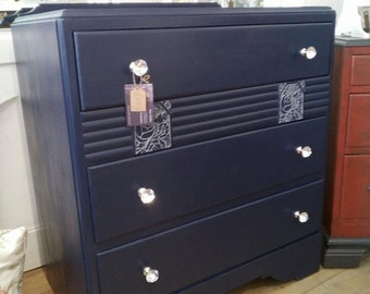 SOLD - Amazing painted Chest of Drawers.