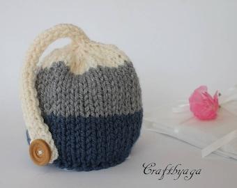 Knit Baby Hat,Newborn Baby Hat,Baby Photography Prop,Chunky Knit Baby Hats,Baby Beanie,Knit Baby Hat,Photo Prop Hat,Hand Knit Baby Beanie
