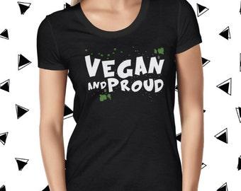 Plant-based Tee - Vegan Shirt for Women - Funny Vegan Tshirt - Punk Vegan T-shirt - Plant Based Tee - Cute Plant Tee - Women Cute Vegan Tee