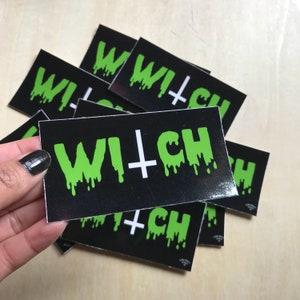 """Witch 3"""" vinyl sticker"""