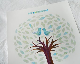 Wedding Tree Guest Poster