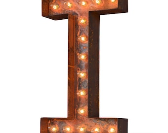 Iconics Marquee Light: Letter I