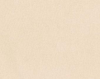 Sand, Kona Cotton, Robert Kaufman Fabrics, Half Yard