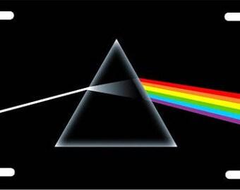 Pink Floyd License Plate