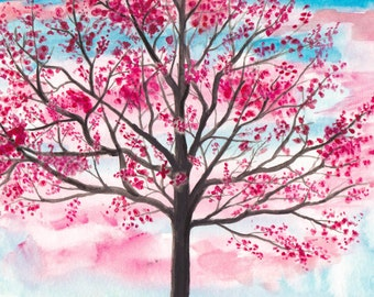 Spring - Watercolor Print