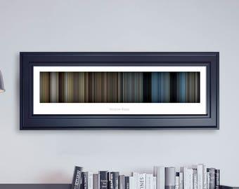 Hacksaw Ridge // Movie Poster // Movie Barcode // Oscar Film // Academy Awards // Wall Decor // Panoramic