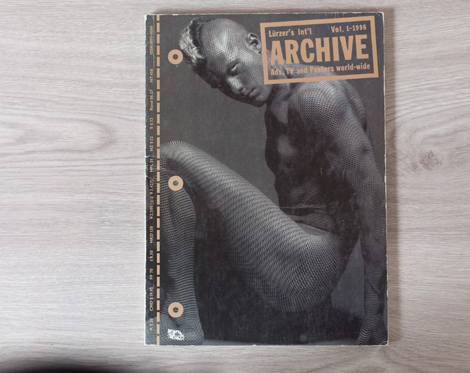 1996 Archive Magazine Volume 1 - Lürzer's International Ad's, TV Posters, and World-Wide - Creative Agency Advertisements Photography Zine