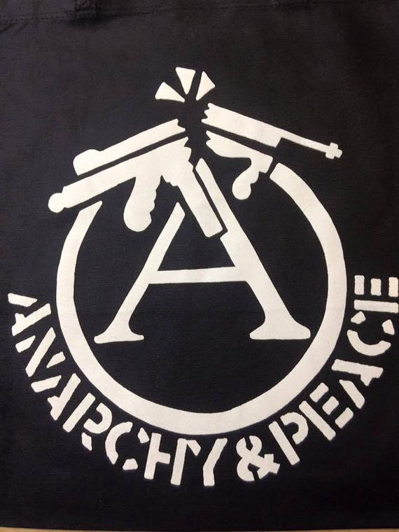 T Shirt Crass Anarchy And Peace Punk Anarcho