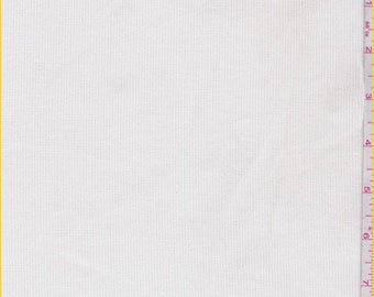 Cloud White Stretch Corduroy, Fabric By The Yard