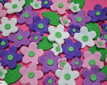 Blossoms.. edible cake topper