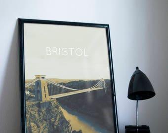 Bristol Poster 11x17 18x24 24x36