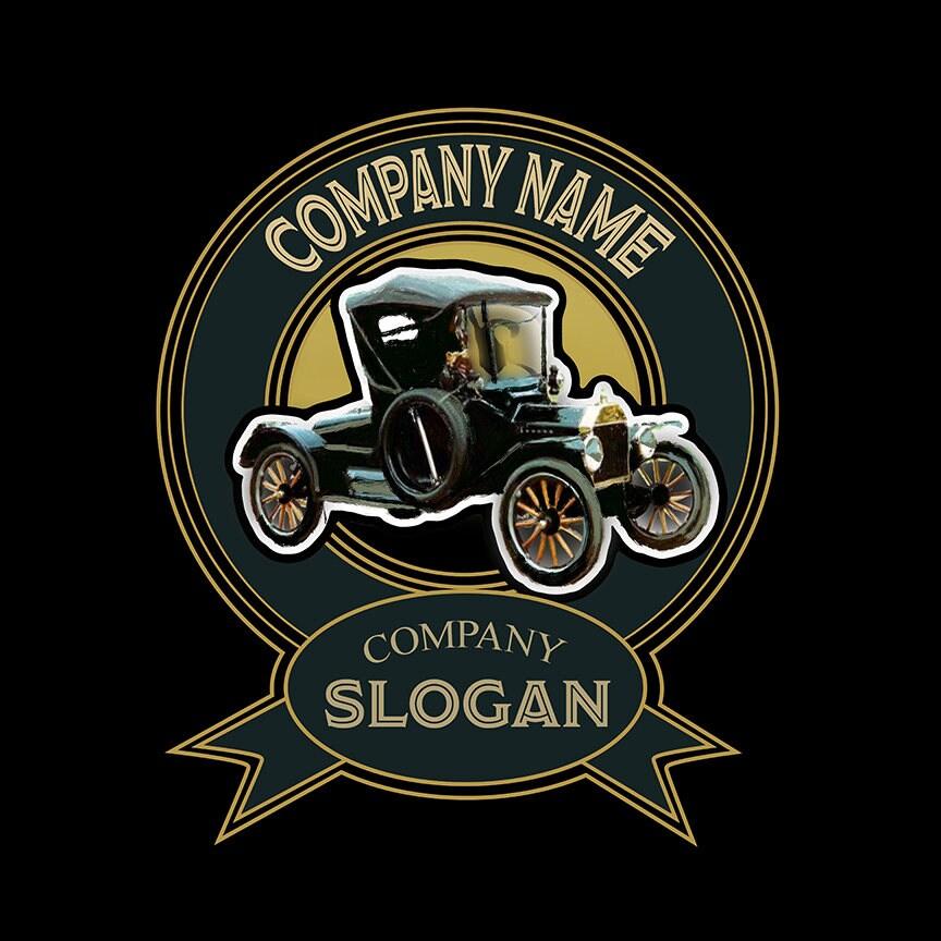 Logo Vintage Automobile Logo premade Car Logo Auto Dealer