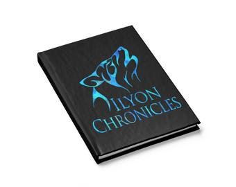 Ilyon Chronicles Blue Wolf Journal  Ruled Line