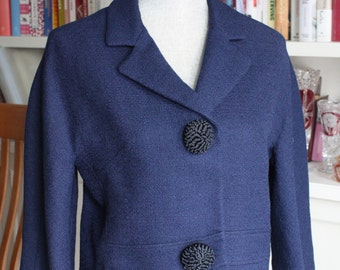 Gorgeous Women's Alpaca Suit Jacket - 1960s